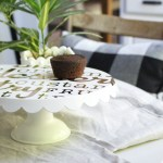 Using the Cricut Explore Air 2 to Make a Decorated Cake Stand