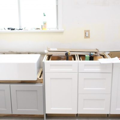 Warm & Inviting White Cottage Kitchen Renovation~ Midpoint Check In