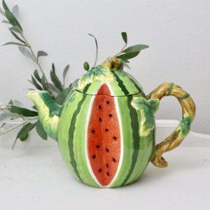 kitchen- pitcher- decorative- home decor- dinnerware- watermelon