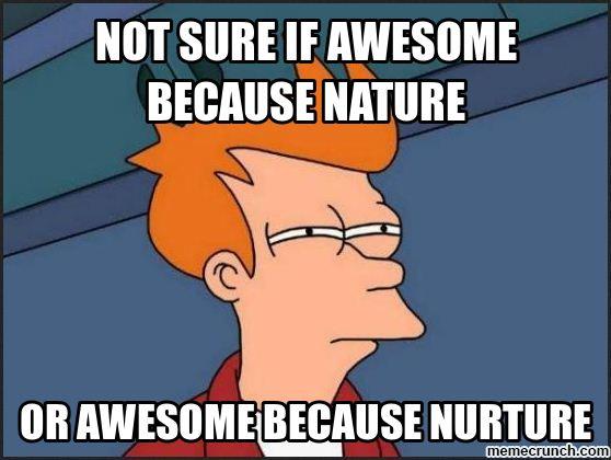 Books On Nature Vs Nurture Debate