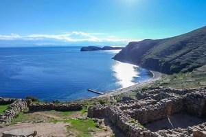 isla walk sun water ruins