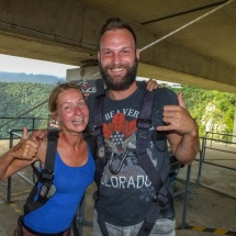 Bungee big smile after 1