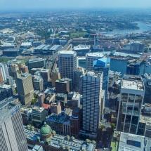 sydney tower above