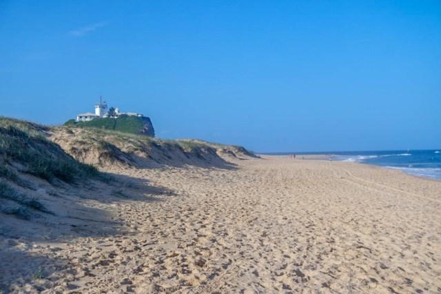 Newcastle Nobbys Beach lighthouse I