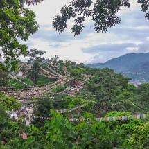 Kathmandu-Swayambhu mountains