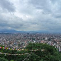 Kathmandu-view over city