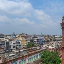 New Delhi-view on old delhi