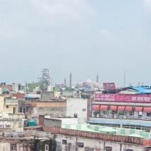 New Delhi-view on old delhi pano
