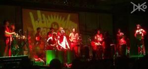 Konzert Bühne La Bomba de Tiempo
