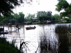 Kanal im Delta