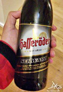 Flasche Hasseröder Schwarzbier