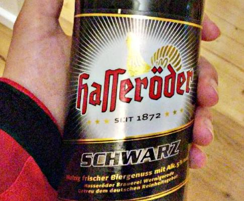 Hasseröder Schwarzbier – malzig, frisch