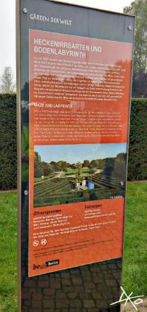 Das Heckenlabyrinth in den Gärten der Welt