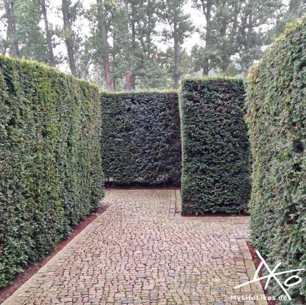 Im Irrweg Labyrinth - Gärten der Welt