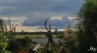 Dämmerung auf dem Tempelhofer Feld