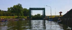 Kanu Schleuse Rothenburg Saale