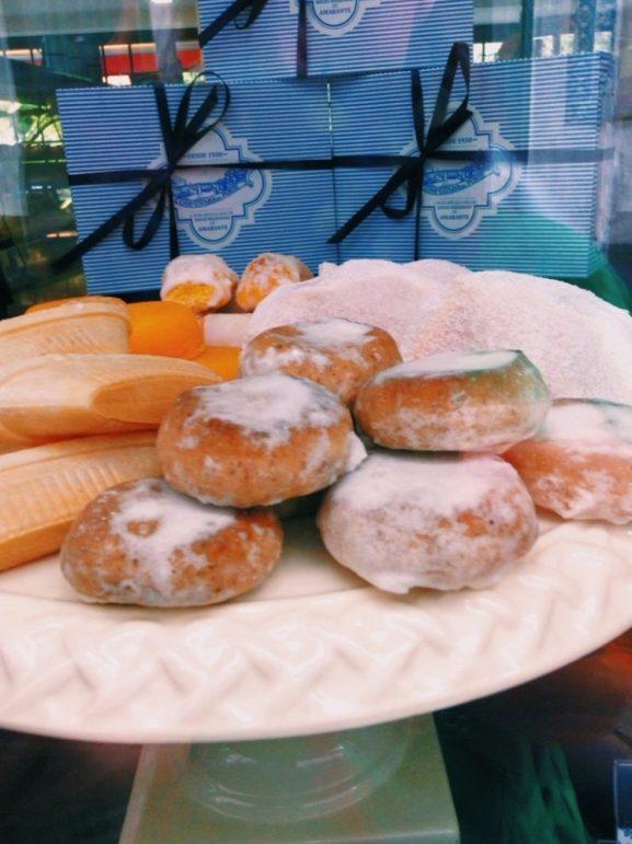 the sweet pastries of Amarante, the duoro valley, portugal