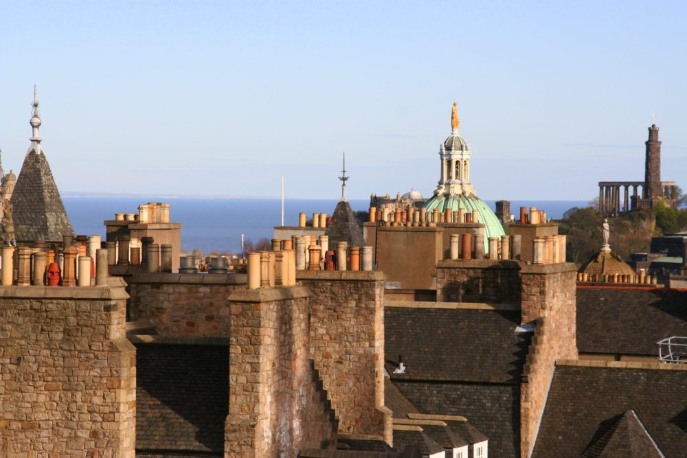 Some of the best views of Edinburgh can be seen from the Camera Obscura