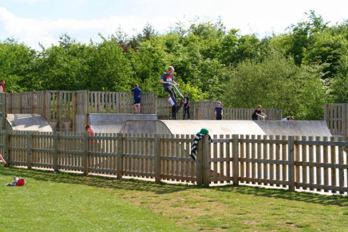 skate park at Rushcliffe Country Park