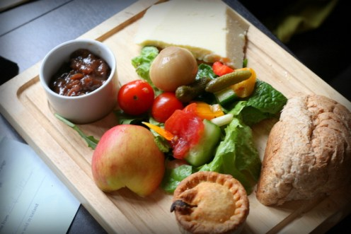 ploughmans at restaurant at clumber park nottingham