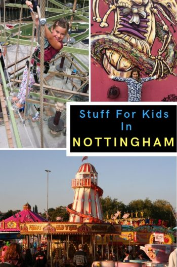 Nottingham has so much to offer for families and is a great UK city to take the kids. Read on for the best things to do and see... #nottingham #eastmidlands #ukcity #england