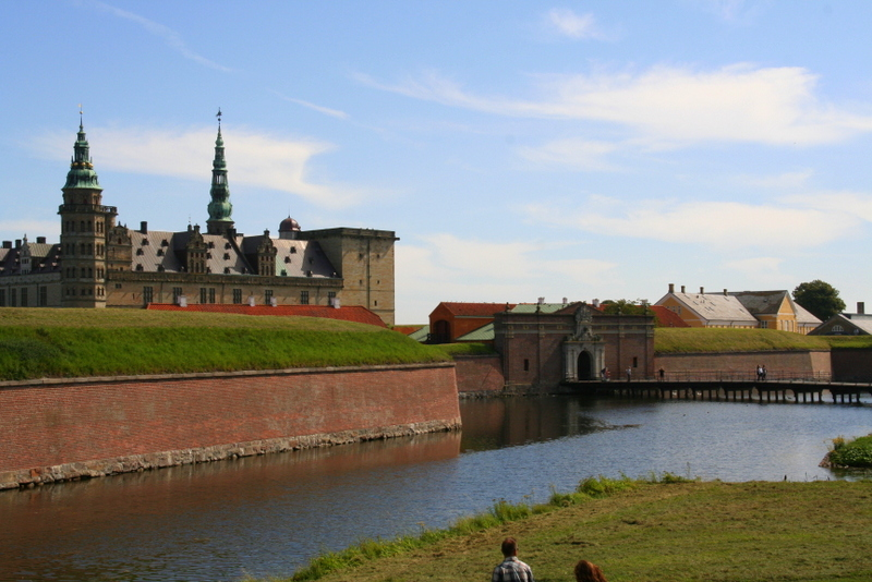 Kronborg Castle, Helsingor, North Sealand, Denmark. Days out in Denmark. Day trips from Copenhagen