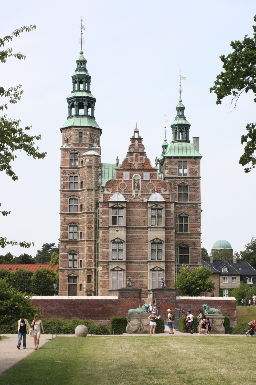 Rosenborg Castle, Copenhagen, Denmark - a beautiful old castle set in pristine park land.