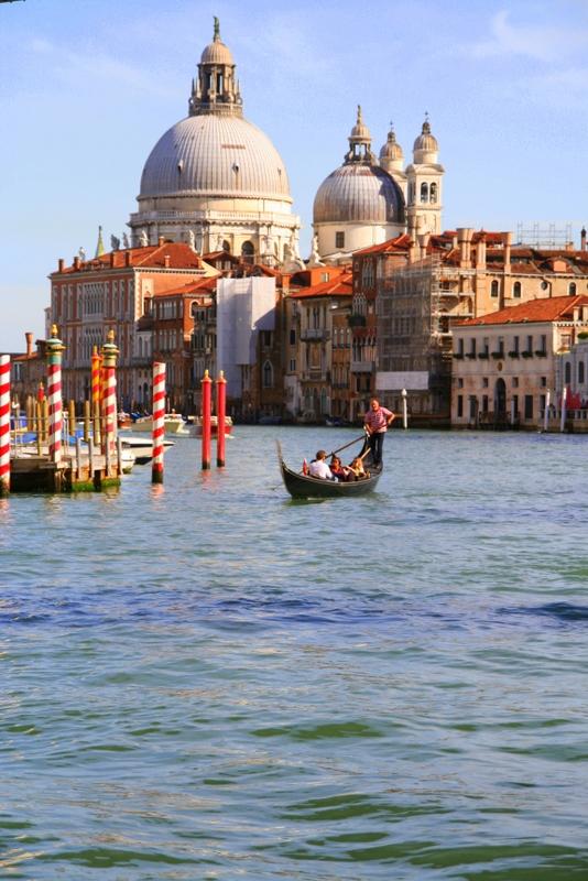 Basilica Di Santa Maria Della Salute at the tip of the Dorsoduro district in Venice