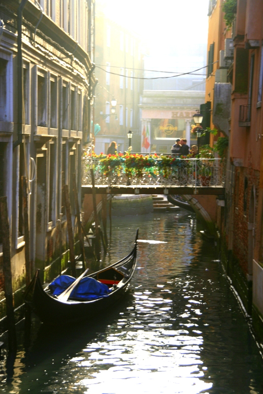 Venice is a network of beautiful canals and every turn you take lands you in another stunning area.