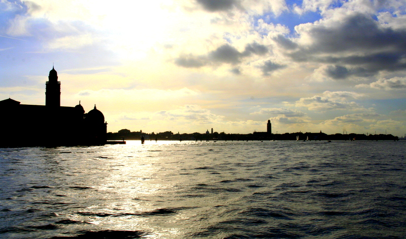 The view over to Venice from Murano