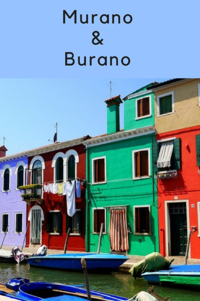 Murano and Burano both make for a nice day trip from Venice - islands full of colour and rich in history. Click through for my guide on visiting these two beautiful islands in Venice