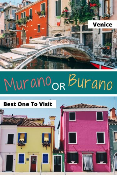 Murano or Burano - which one is worth a day visit from Venice? #murano #burano #venice