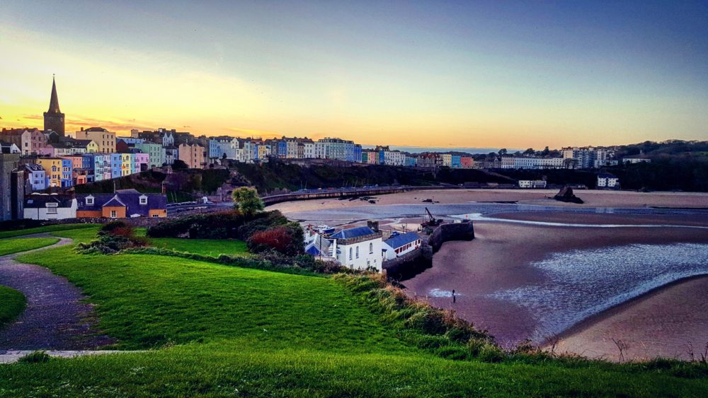 Tenby is a large port town in Pembrokeshire with so much history and a beautiful promenade of colourful houses