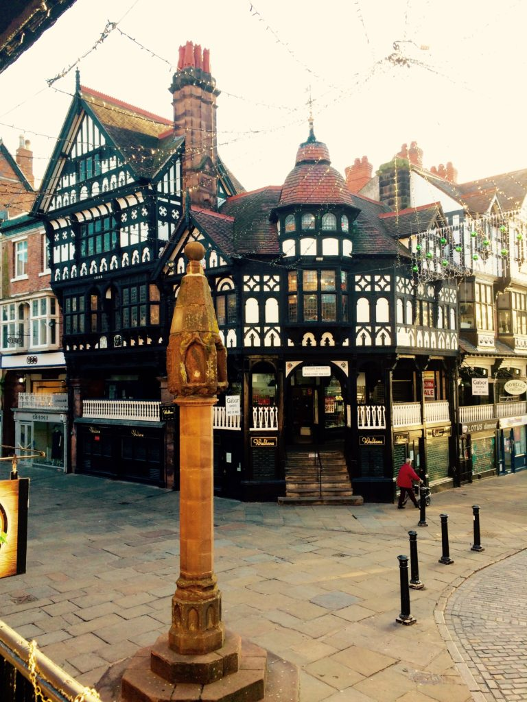 The Rows in Chester convey the history of this cultural city.