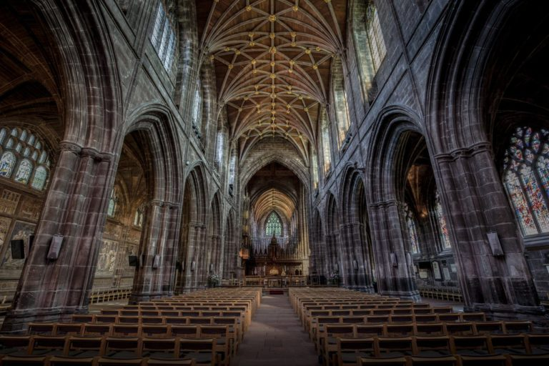 Gothic and Medieval architecture at Chester cathedral