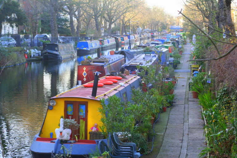 little venice on Regents Canal in London - Best walk for kids