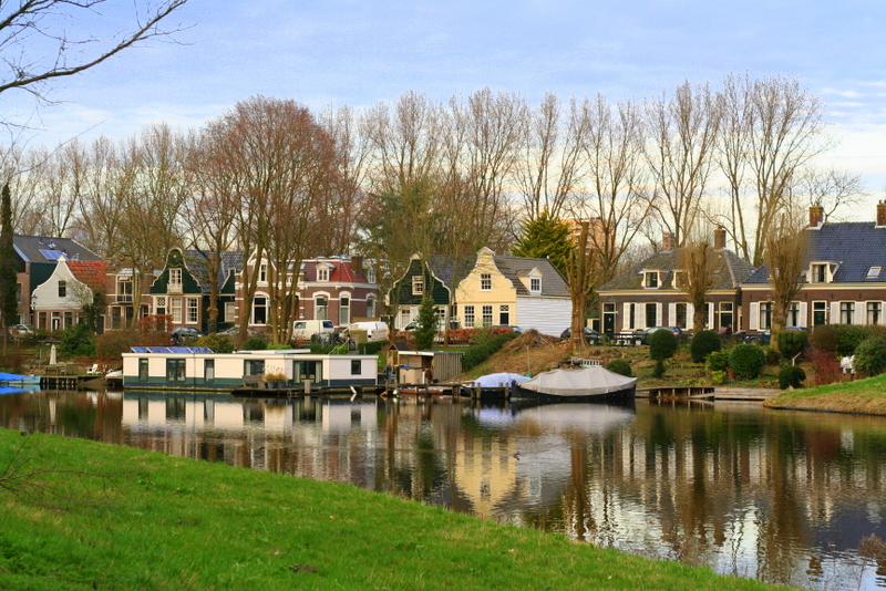 Amsterdam Noord is the oldest part of Amsterdam, originally a fishermans village in the 13th centrury. If you've hired a bike on your weekend in Amsterdam then you could do a bike ride north of the river to see this old area