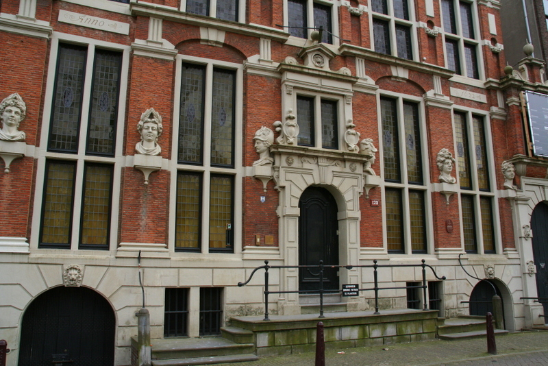 House of Heads, Amsterdam - just one of the hidden gems as you walk the canals and streets of Amsterdam