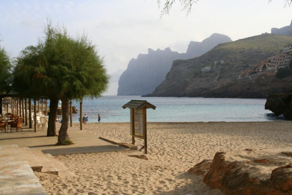 Cala Sant Vicenc - a secret beach off the beaten track near pollensa