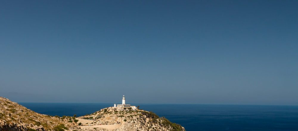 The lighthouse at Formentor is a great day trip from Pollensa or Alcudia