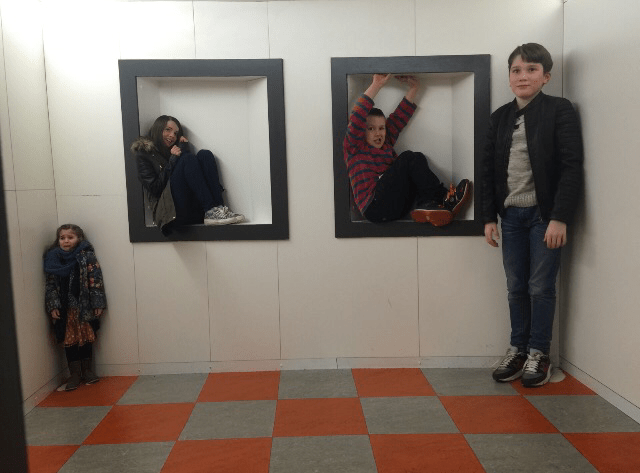 The Camera Obscura is such a fun place to take the kids in Edinburgh