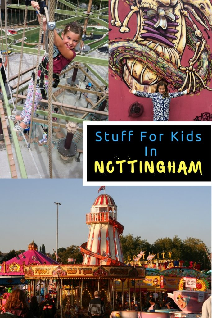 Where to go with kids in Nottingham. What to do with kids in Nottingham. Lots of tips and ideas on places to take the kids in Nottingham