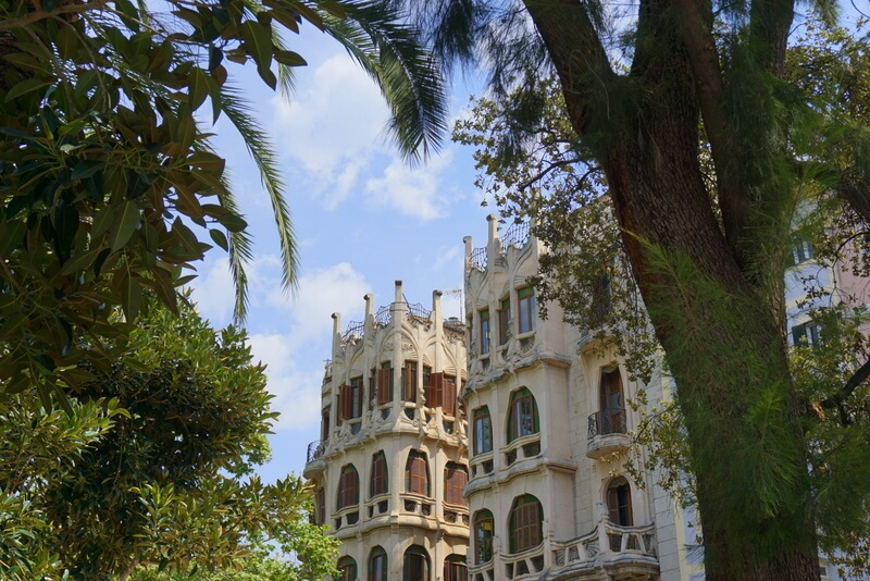 you must wander and see the fine architecture in Palma, perfect for a city weekend break