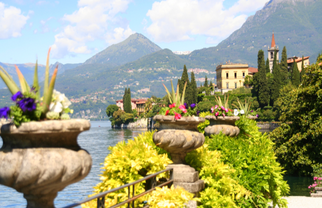 Top 5 things to do on Lake Como; Visit Villa Monastero in Varenna - definitely one of the best views of Como.