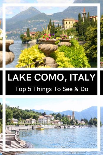 Lake Como in northern Italy is one of the best Italian Lakes for many reasons but if you are only here for the weekend you don't want to miss out on the best bits. Read my guide on the best places to see and things to do at Lake Como. #lakecomo #italy #italianlakes #besteurope