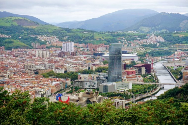 The best views of Bilbao from the top of the funicular