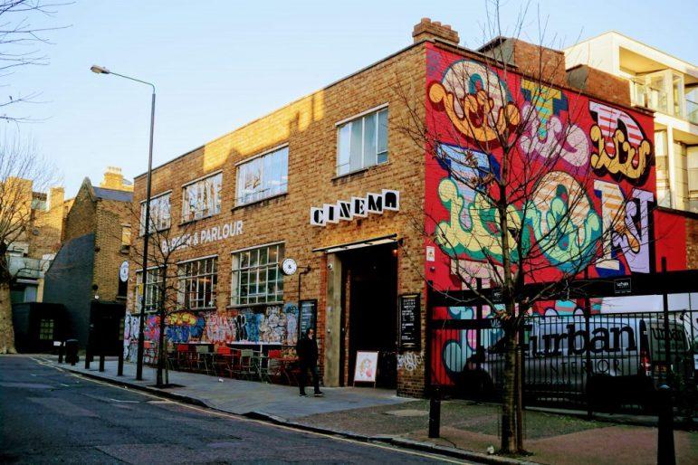 best cinema in London, Shoreditch cool area