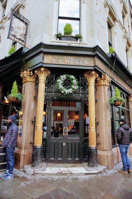 Ten Bells Spitalfields - Jack the Rippers pub