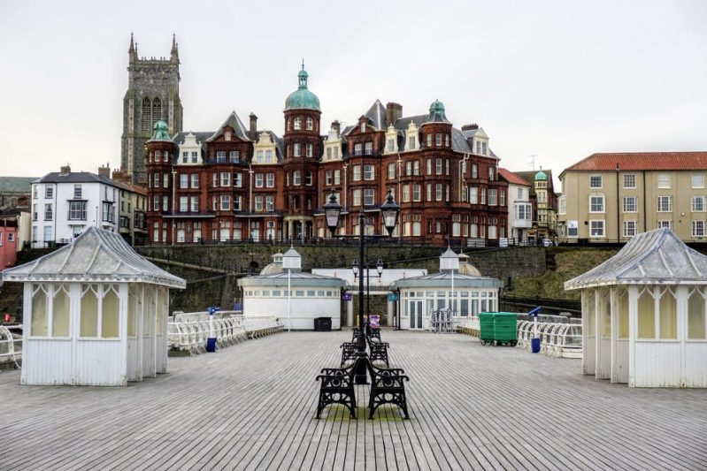 Cromer Pier is one of the most beautiful piers in England and definitely worth a stop when you're in Norfolk.