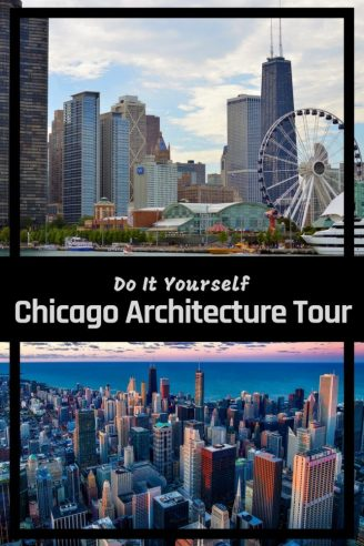 Chicago has a world famous skyline - learn more about the buildings of The Windy City through fun facts and interesting trivia. Take a free self guided walking tour downtown and explore some of the worlds funkiest buildings and skyscrapers. #Chicago #chicagoarchitecture #bestamericancities #willistower #usaroadtrip #walkingtour #thingstodoin